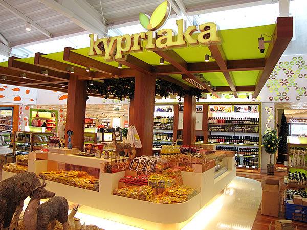 Покупки на Кипре