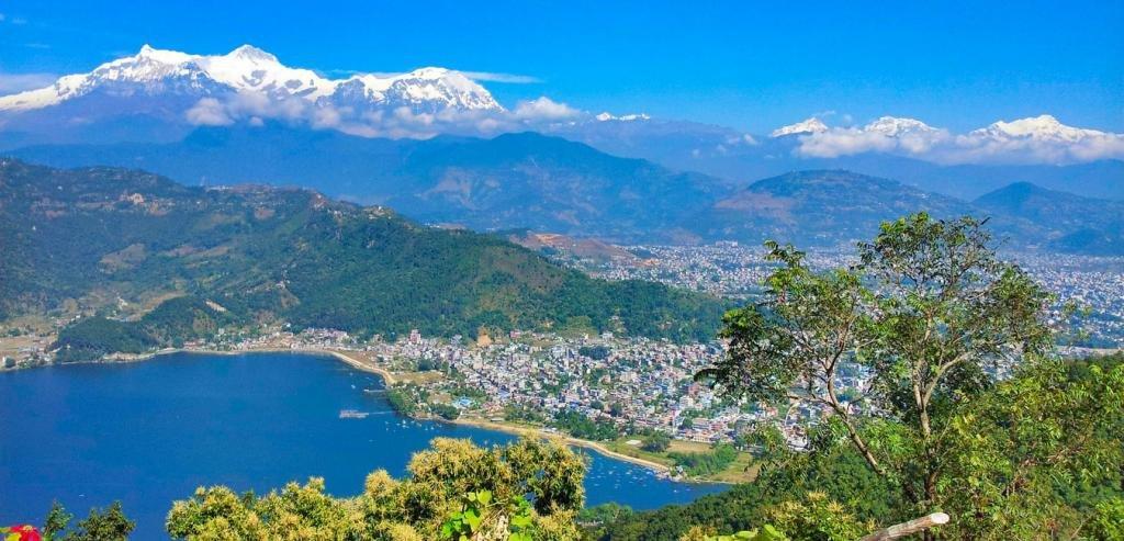 Панорама Покхары
