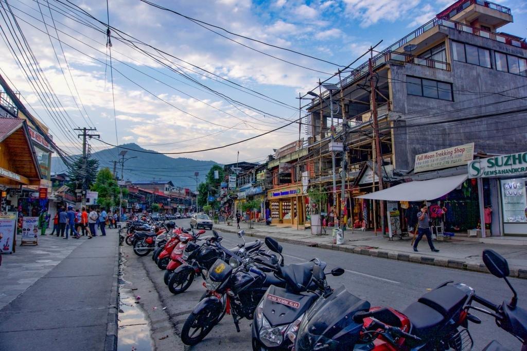 Улочки Покхары