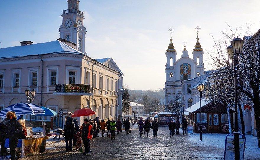 Зимняя улица Суворова