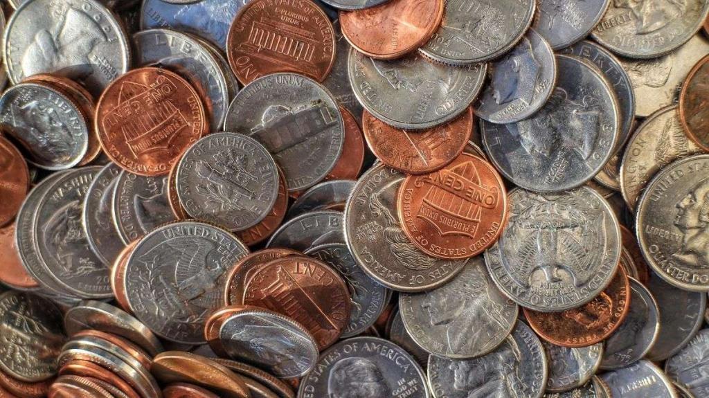 Монеты USD