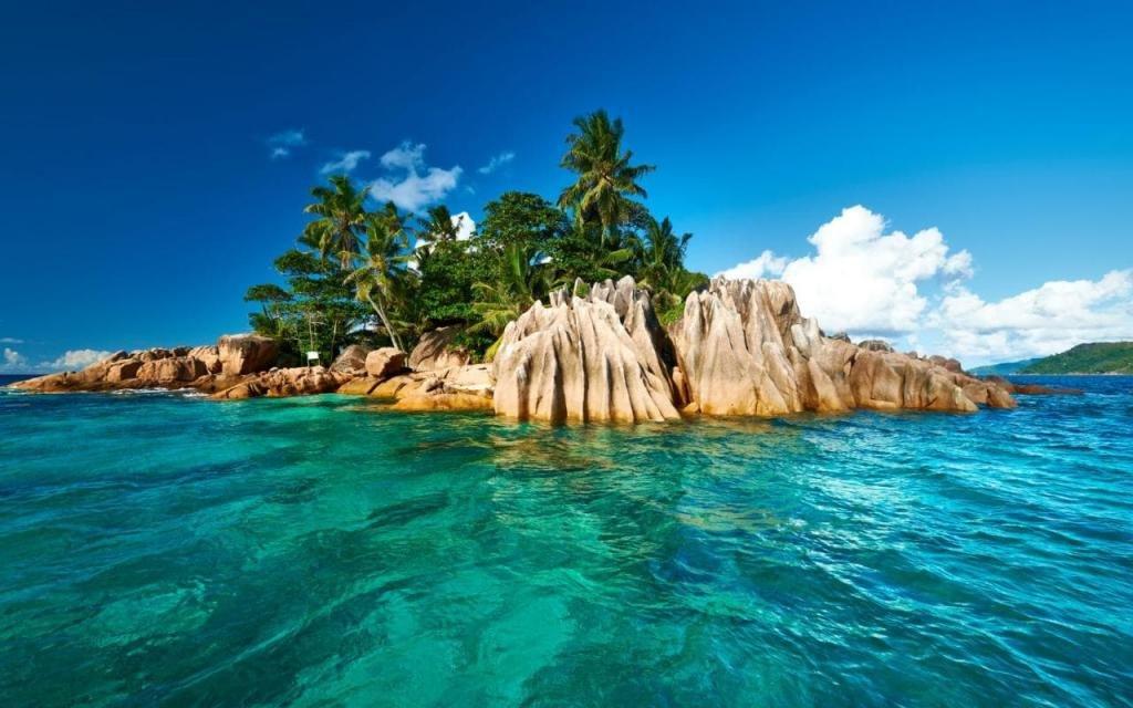 Чудесные пейзажи Сейшельских островов