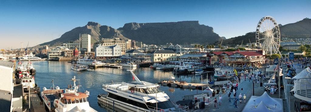 набережная в Кейптауне