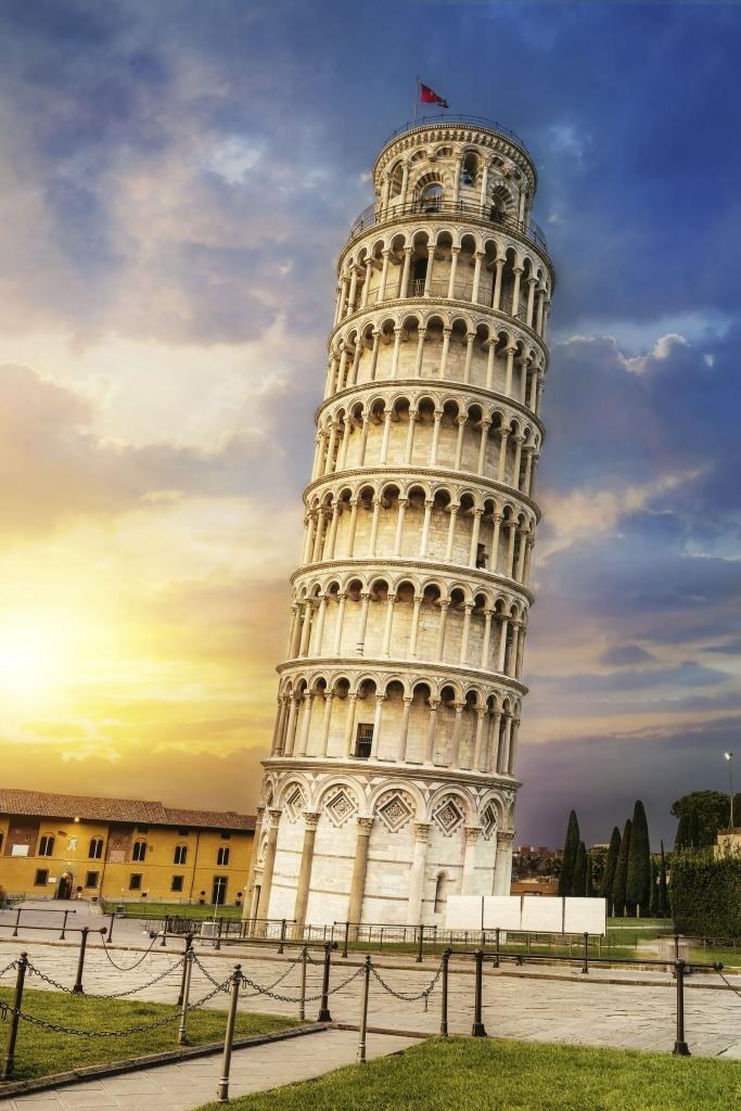 Создание пизанской башни