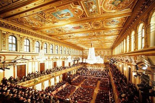 Золотой зал Венской Филармонии