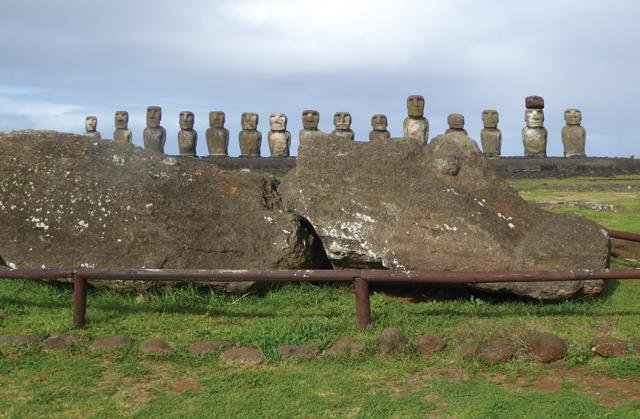 стражи острова Пасхи