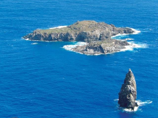 Остров Пасхи с высоты