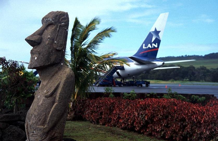 аэропорт на острове