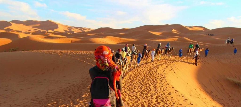 сентябрь в Марокко
