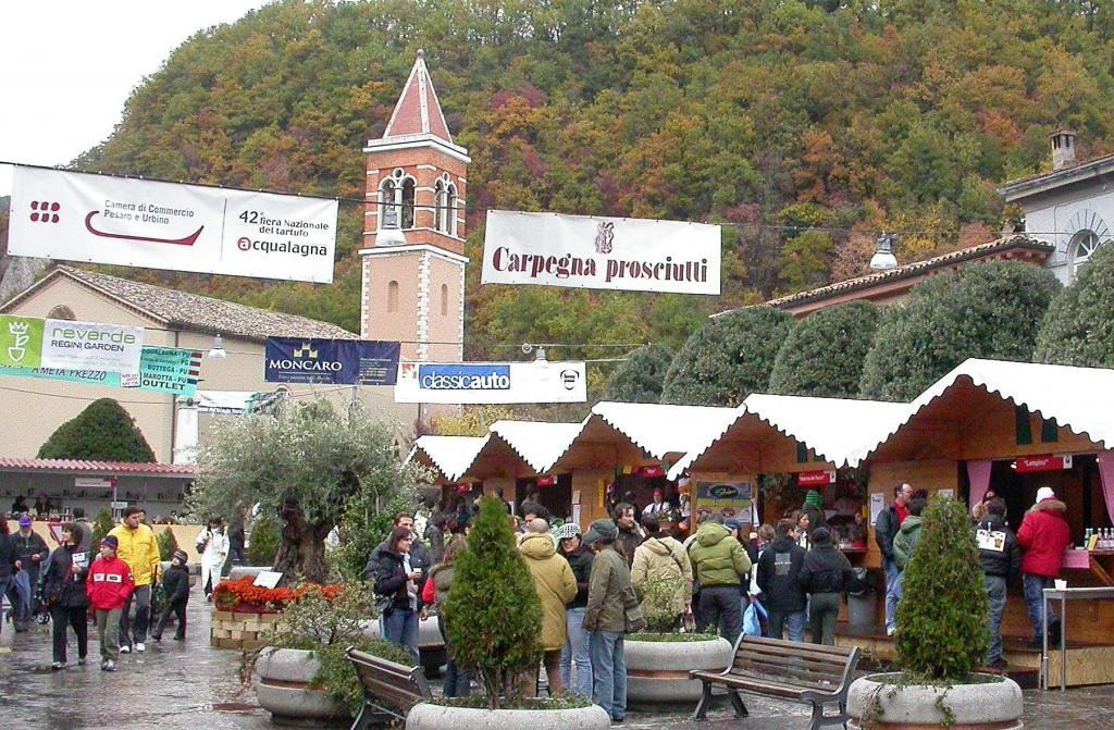 Трюфельная ярмарка в Италии