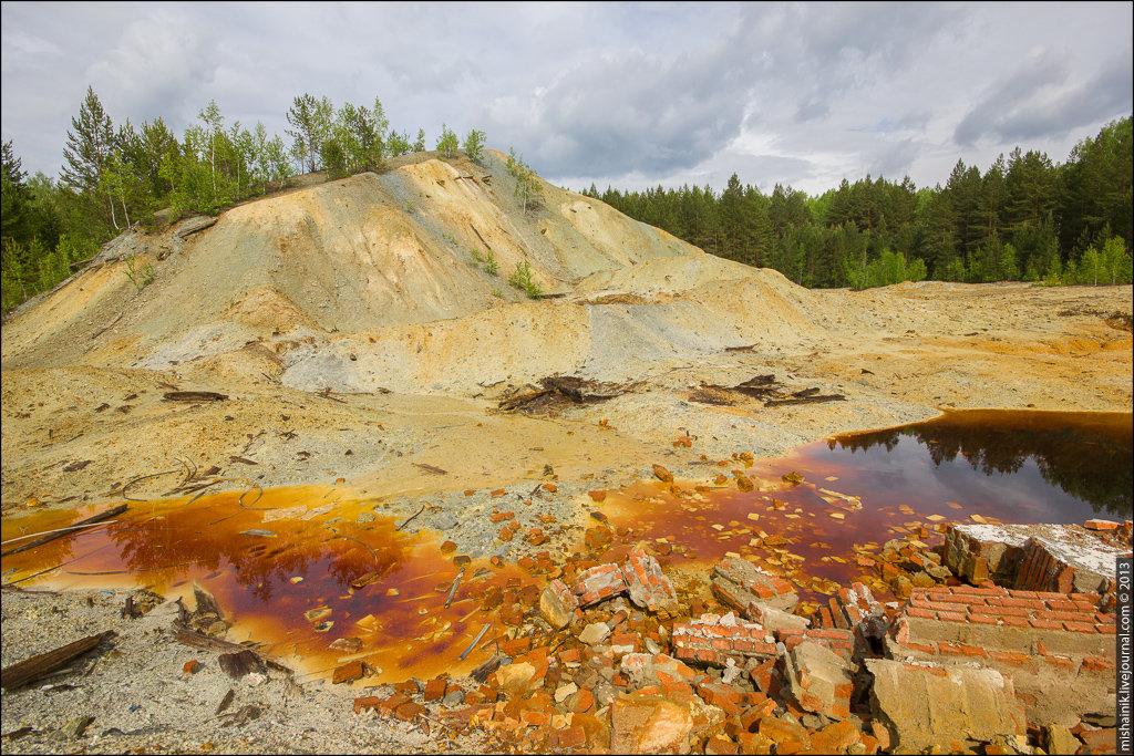 Золотодобыча в России, Урал