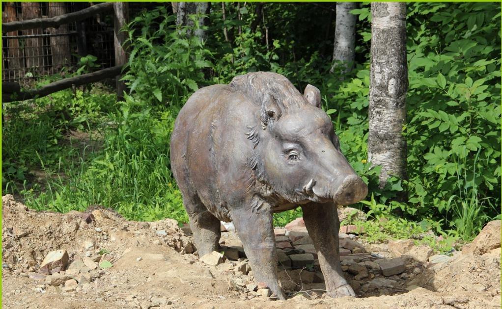 скульптура животного