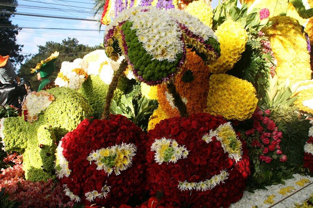 фестиваль цветов на Филиппинах
