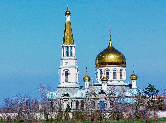 Храм Иоанна Богослова в Волжском
