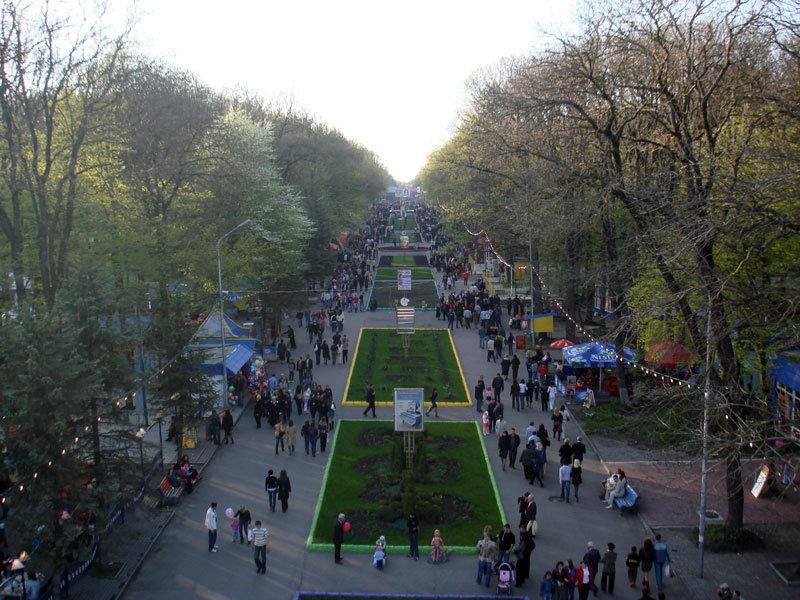 Панорама парка Победы