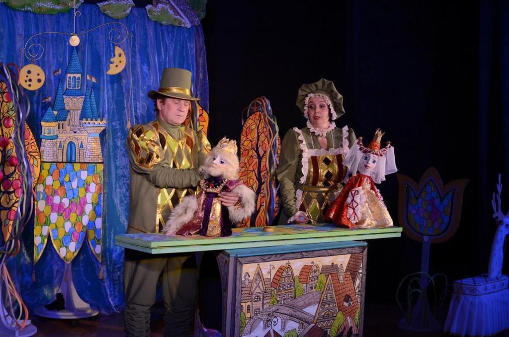 Спектакль Ставропольского театра кукол