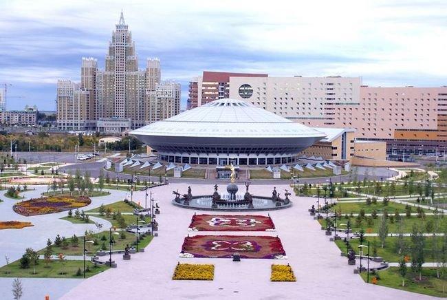 Столичный цирк города Астана