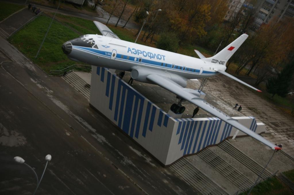 самолет на Скомороховой горе
