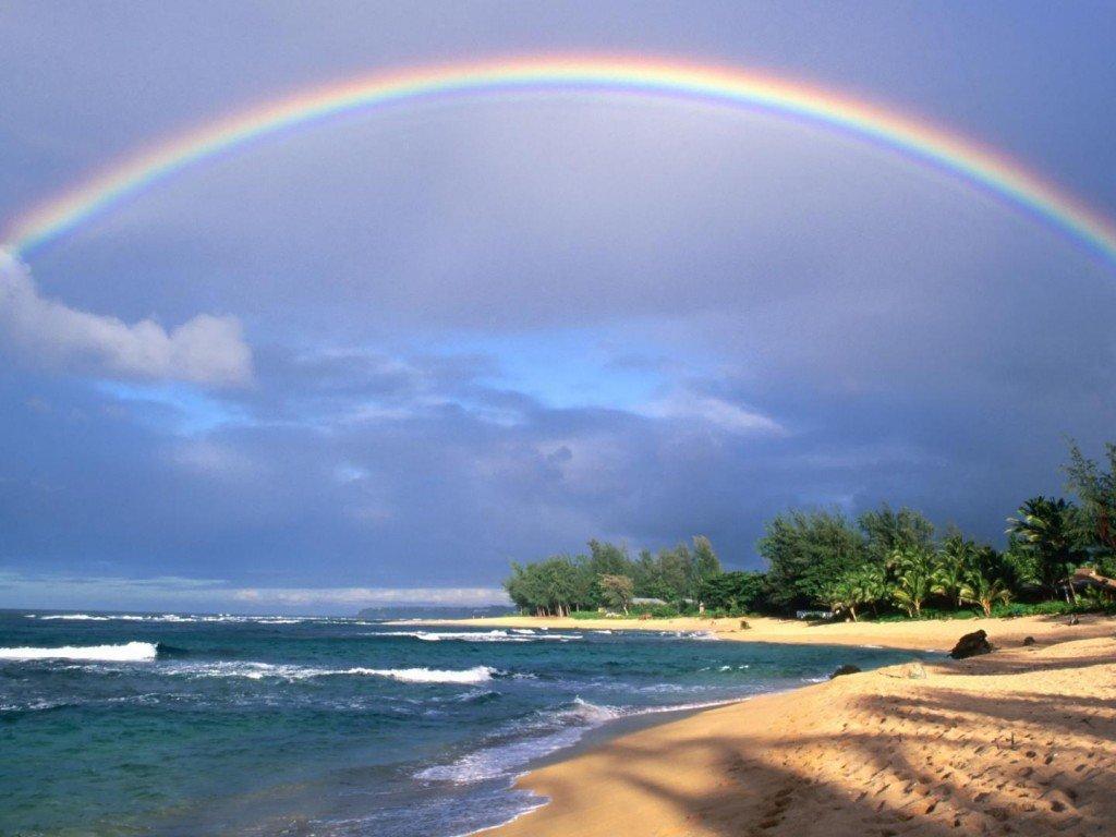 Откуда появляется радуга