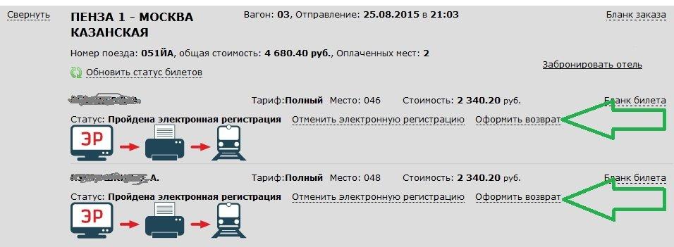 Как купить электронный билет на поезд РЖД