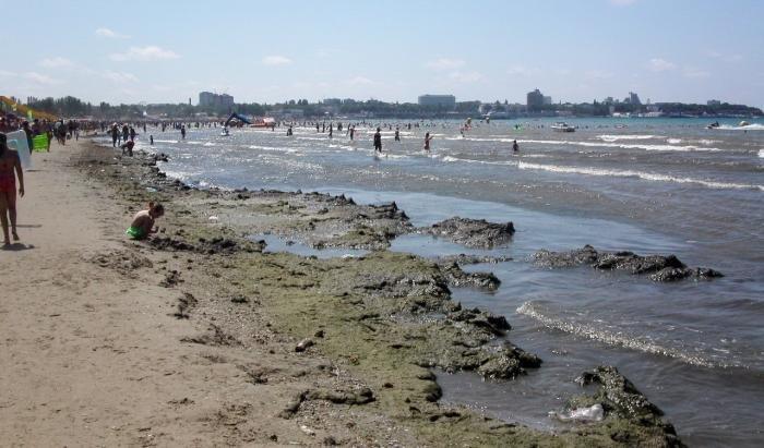 что случилось с морем в анапе