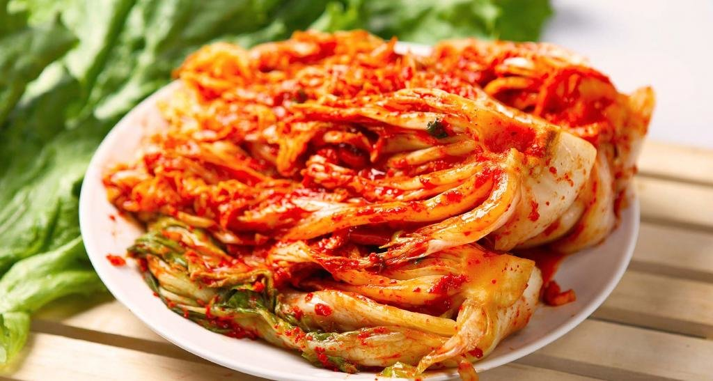 корейское блюда кимчи