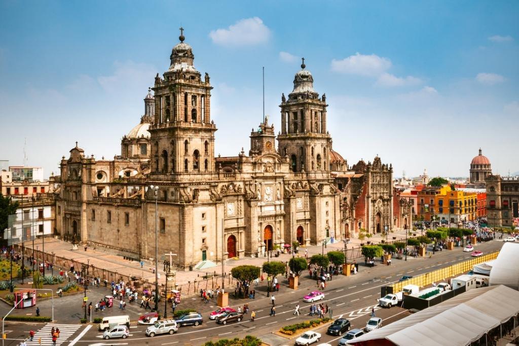 Столица Мехико