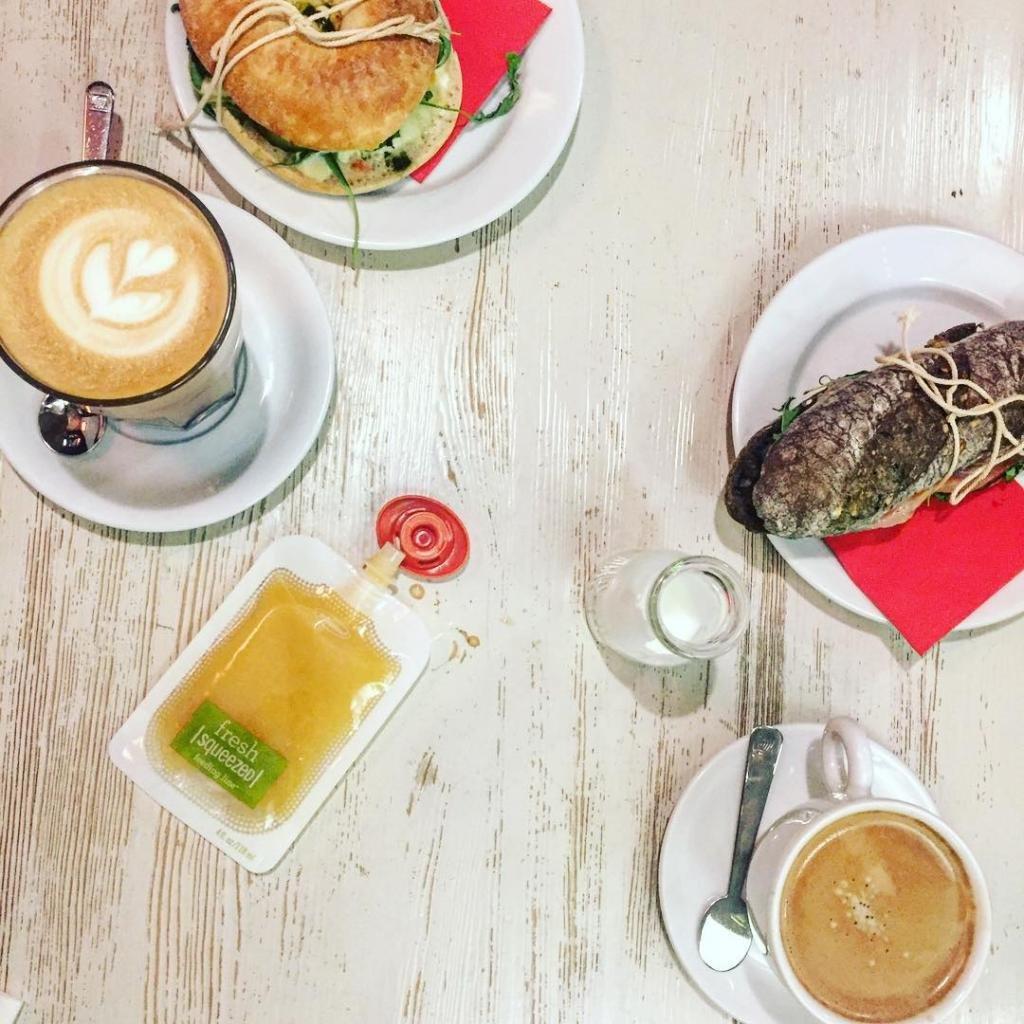 Кофейня в Риге