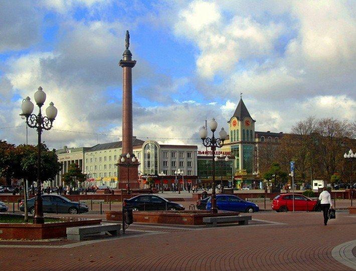 площадь в калининграде