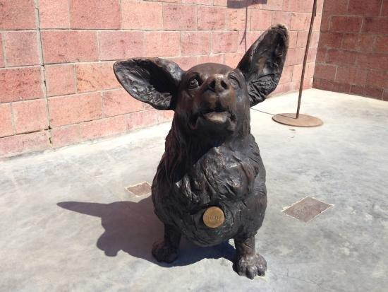 памятник собаке в Иркутске