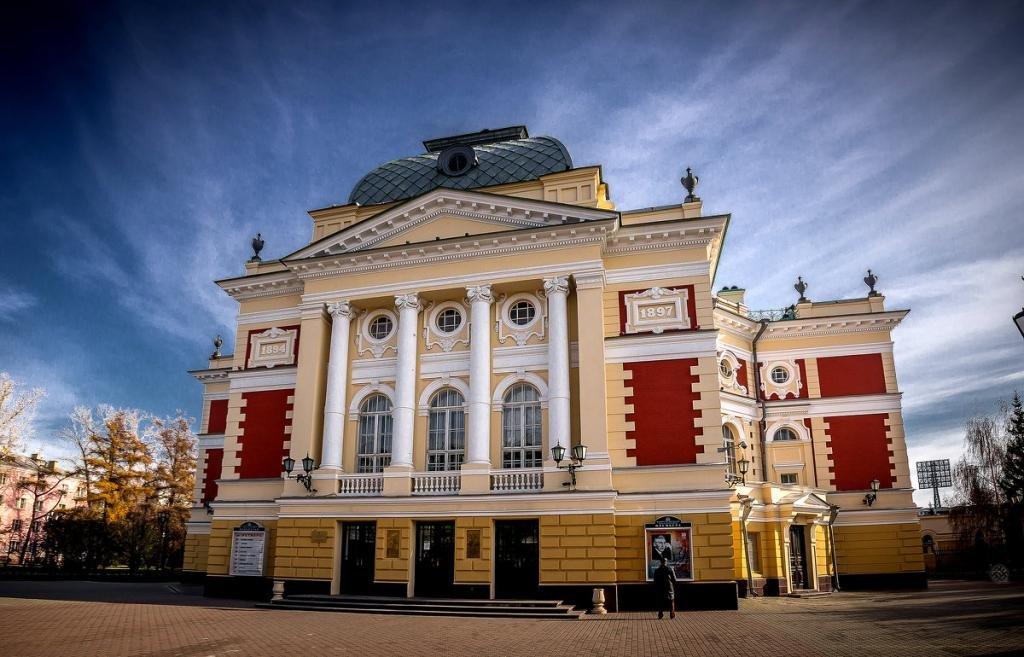 театр Охлопкова в Иркутске
