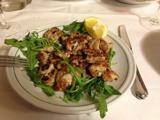 Блюдо из меню ресторана La Campana