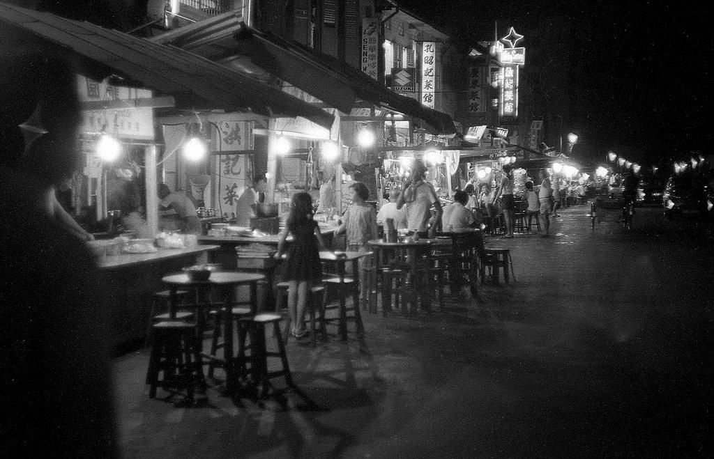 Старые улочки Сингапура