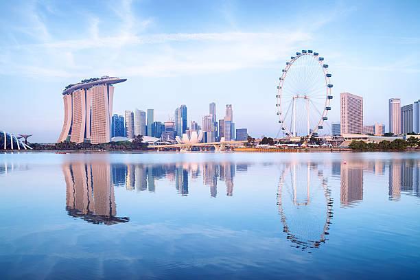 marina bay - сингапурский залив