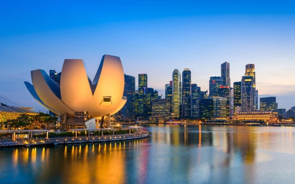 Виды Сингапура