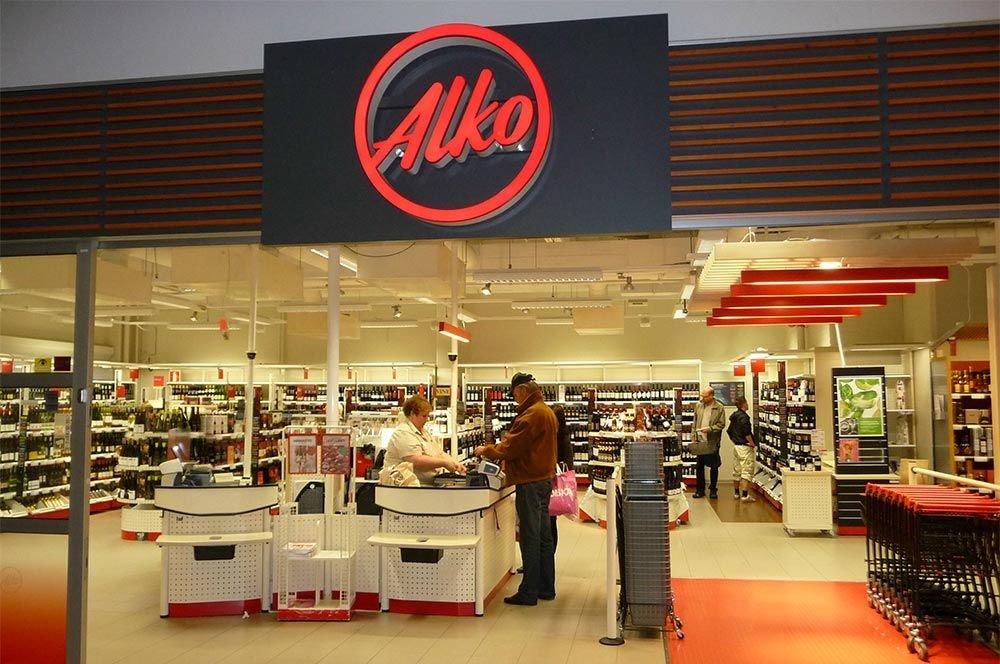 финский алкогольный магазин
