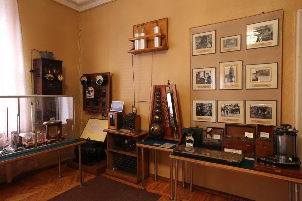 мемориальный музей попова