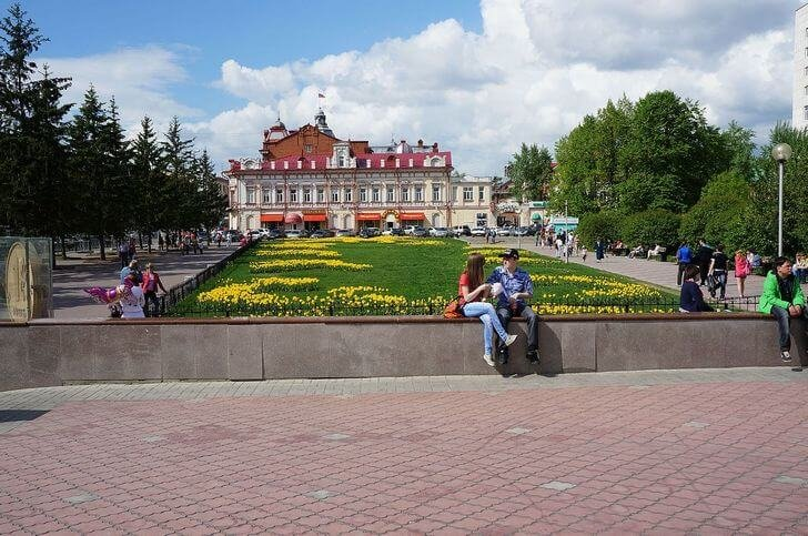 ново-соборная площадь томска