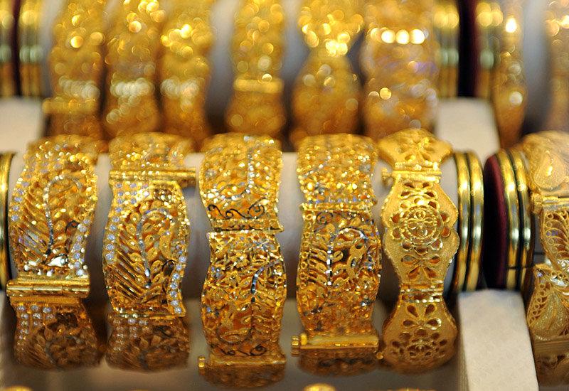 Арабские золотые украшения