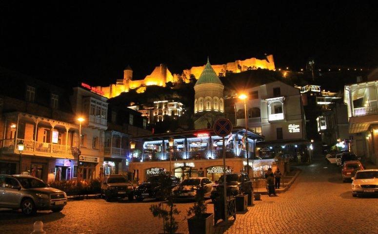 Тбилиси - центр притяжения туристов