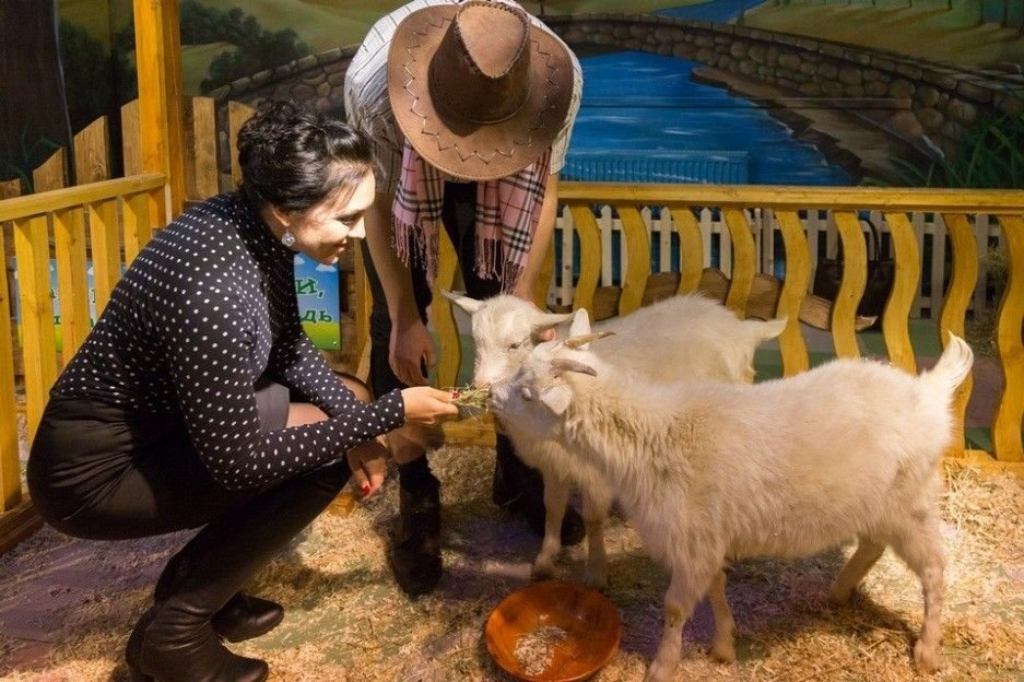 Трогательный зоопарк в Рязани