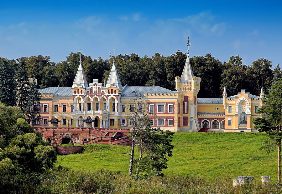 Замок Кирицы в Рязани