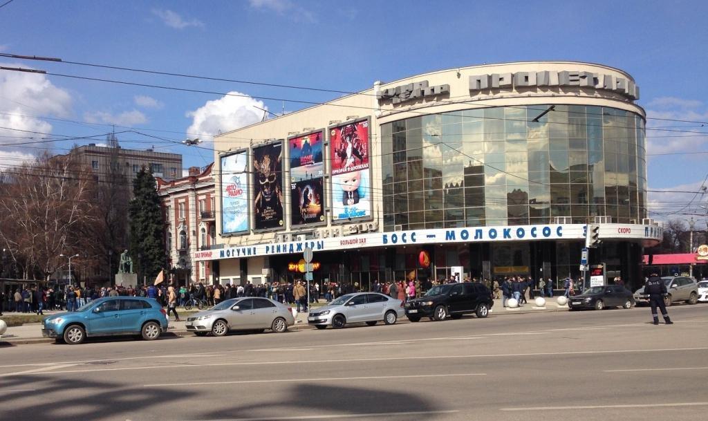 Никитинская площадь в Воронеже