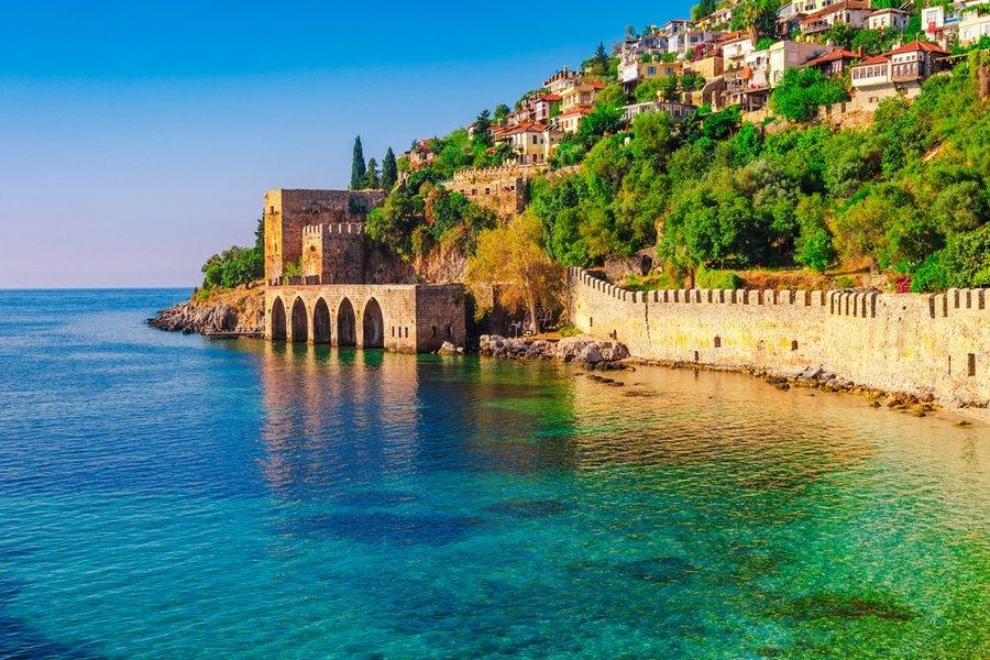 Турция октябрь где теплее море
