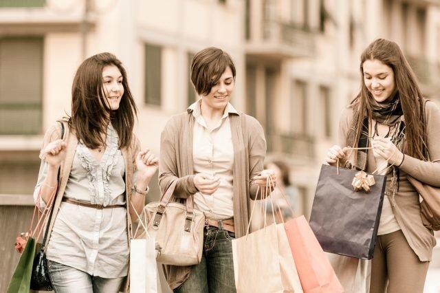 За покупками в лондон