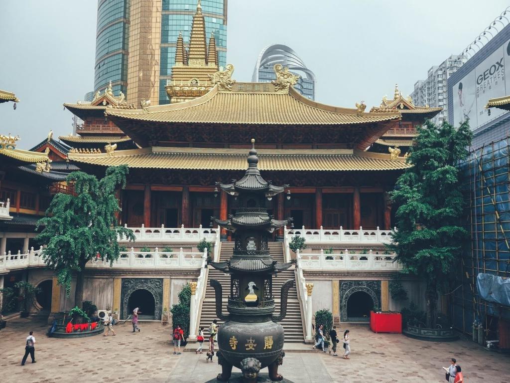 Храм Цзинань