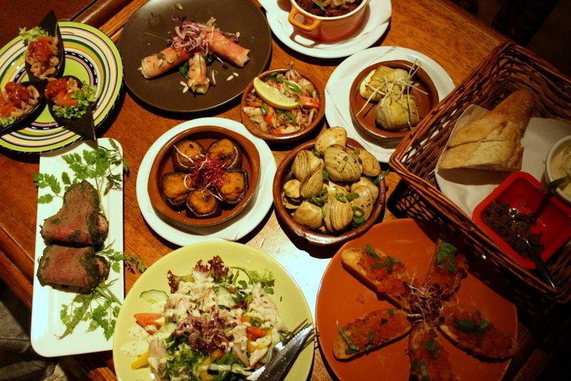 что едят в испании