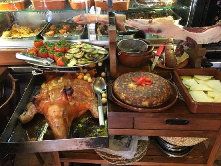 еда в испании фото