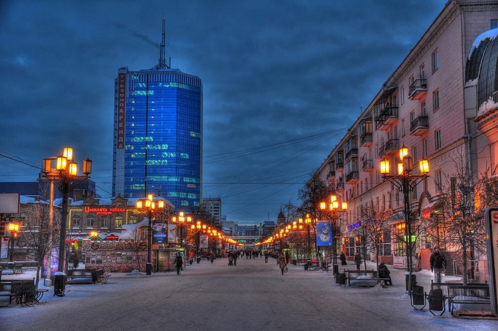 Главная улица Челябинска - Кировка