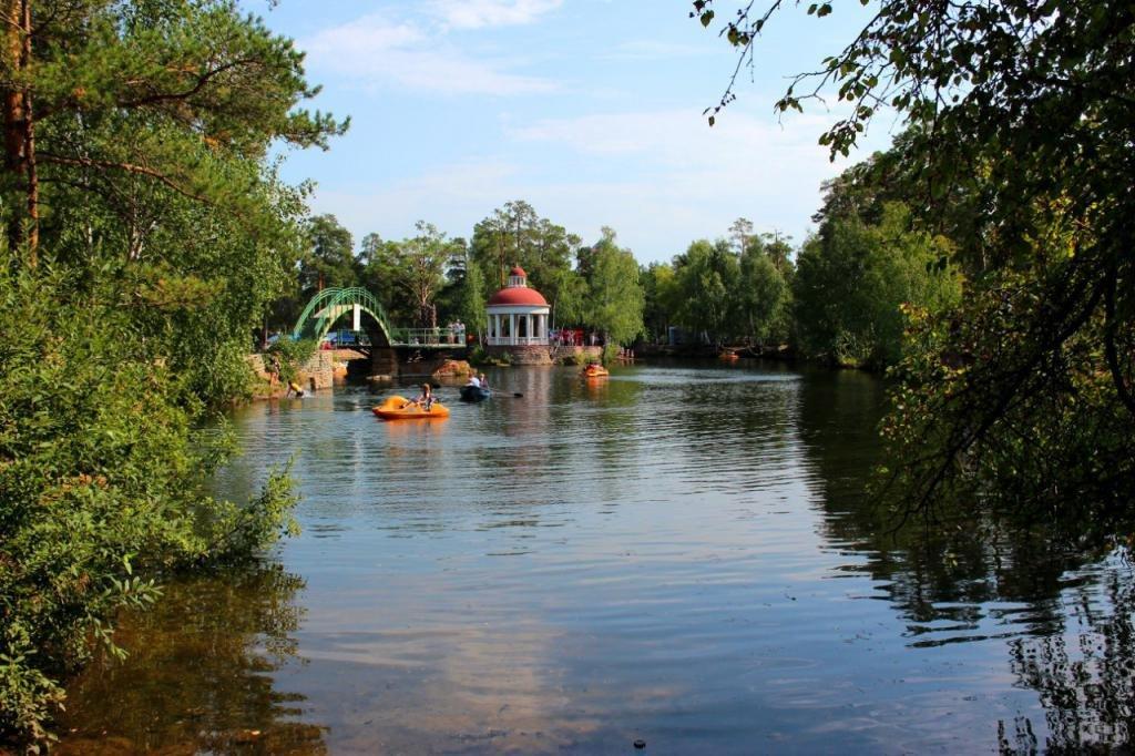Парк Гагарина в Челябинске